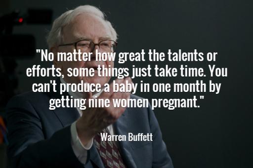 Warren-Buffett-Quotes about patience